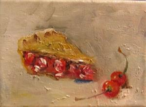 Detail Image for art Cherries and Pie-sold