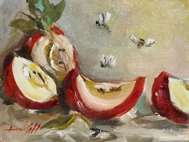 Art: Apple Slices by Artist Delilah Smith