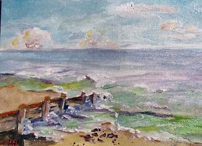 Art: Beach Wall by Artist Delilah Smith