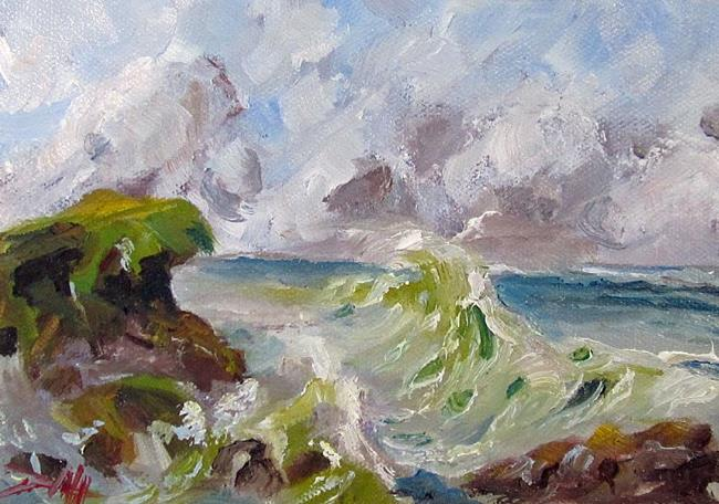 Art: Sea and Sky by Artist Delilah Smith
