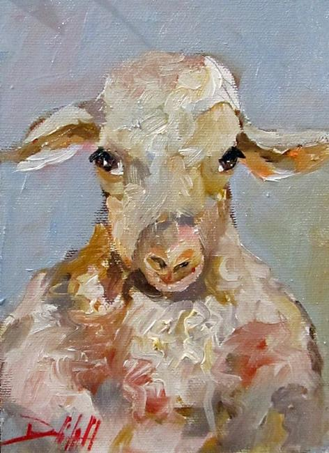 Art: Sheep No.2 by Artist Delilah Smith