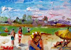 Art: Beach Days by Artist Delilah Smith