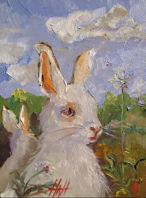 Art: Rabbits by Artist Delilah Smith