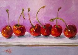 Art: Conga Cherries by Artist Delilah Smith