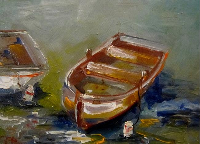 Art: Row Boat No. 2 by Artist Delilah Smith