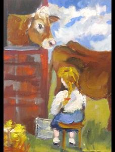 Detail Image for art Milk Cow