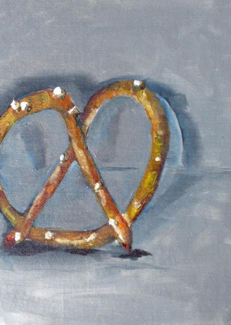 Art: Pretzel by Artist Delilah Smith