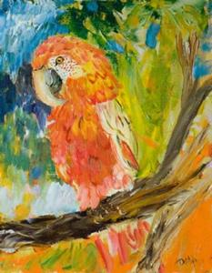 Detail Image for art Parrot