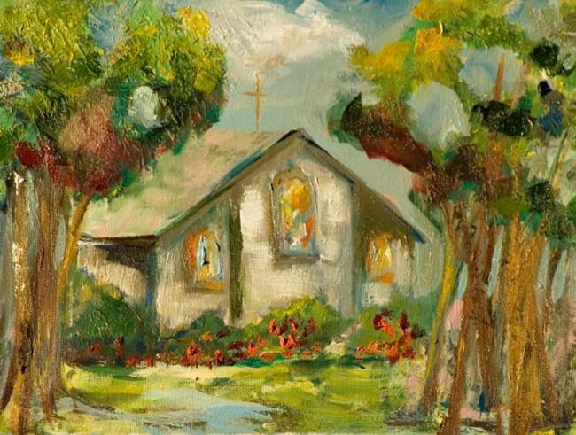 Art: Church by Artist Delilah Smith