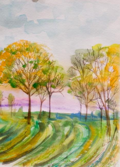 Art: Spring Planting by Artist Delilah Smith
