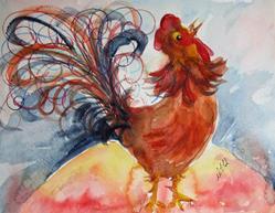 Art: Good Morning-sold by Artist Delilah Smith
