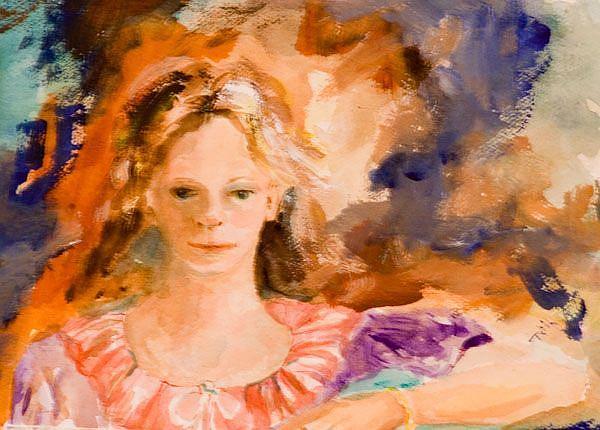 Art: Christina by Artist Delilah Smith