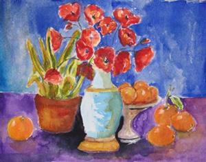 Detail Image for art Poppy Still Life