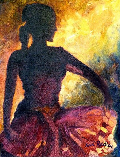 Art: Dance of Parvati by Artist Ann Radley