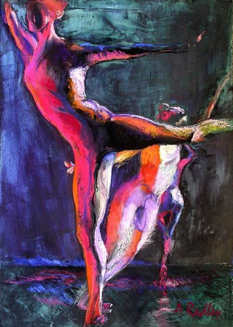 Art: Eye to Eye I by Artist Ann Radley