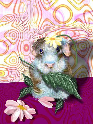 Art: Herbie Hamster by Artist Alma Lee