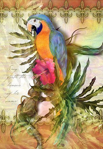 Art: Glory by Artist Alma Lee