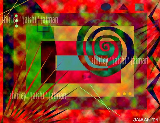 Art: Joy Ride by Artist Shirley Inocenté
