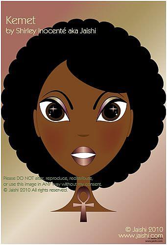 Art: Kemet by Artist Shirley Inocenté