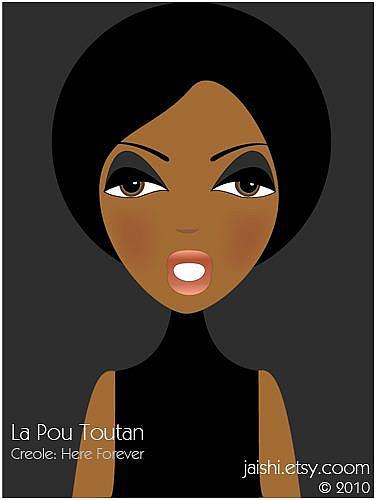 Art: La Pou Toutan by Artist Shirley Inocenté
