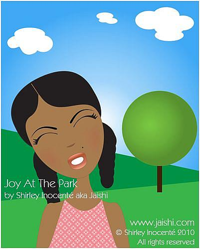 Art: Joy At The Park by Artist Shirley Inocenté