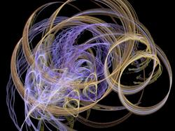 Art: Purple Tendrils by Artist christi lynn schwartzkopf