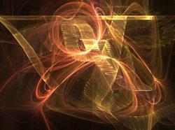 Art: Copper Swirled by Artist christi lynn schwartzkopf