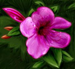 Art: Flower by Artist Tori Siegel