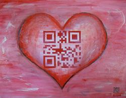 Art: QR_ILoveYou.jpg by Artist Anthony Allegro