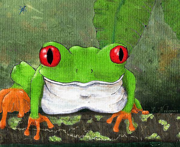 Art: Living Green by Artist Amanda Makepeace