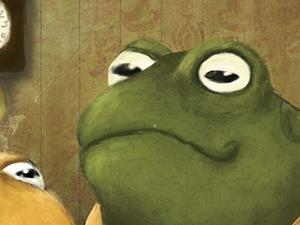 Detail Image for art Frog and Toad