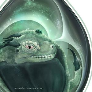 Detail Image for art Dragon's Egg 2014
