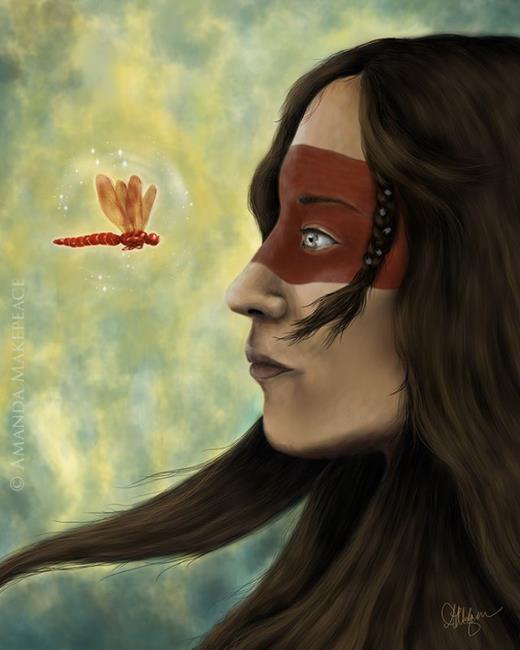 Art: Awakening by Artist Amanda Makepeace