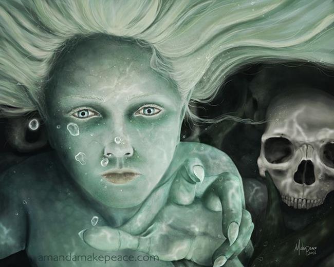 Art: Her Domain by Artist Amanda Makepeace