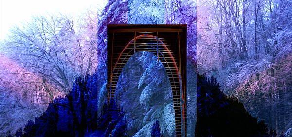 Art: Window on Winter's Soul by Artist Carolyn Schiffhouer