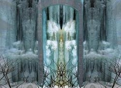 Art: Entrance to the Ice Queen's Palace by Artist Carolyn Schiffhouer