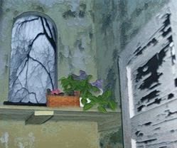 Art: Unlikely Spot by Artist Carolyn Schiffhouer