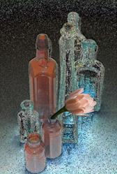 Art: Bottle Wash by Artist Carolyn Schiffhouer
