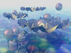 Art: Atlantis by Artist Carolyn Schiffhouer