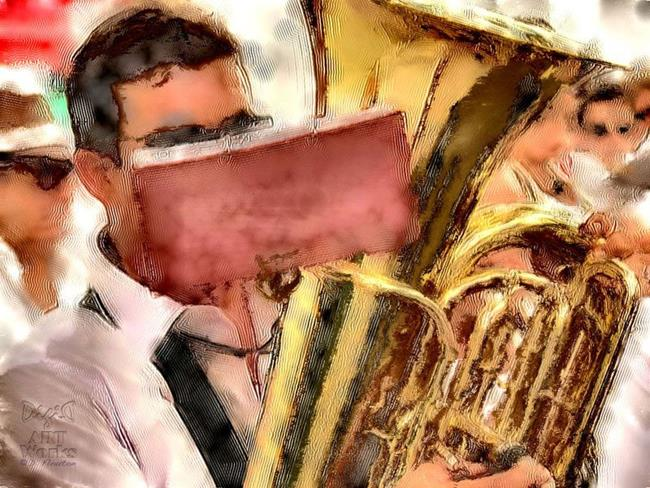 Art: Tubadoo  by Artist Deanne Flouton