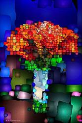 Art: Abstract Bouquet by Artist Deanne Flouton