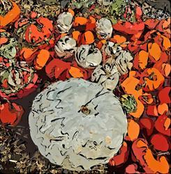 Art: Pumpkins by Artist Deanne Flouton