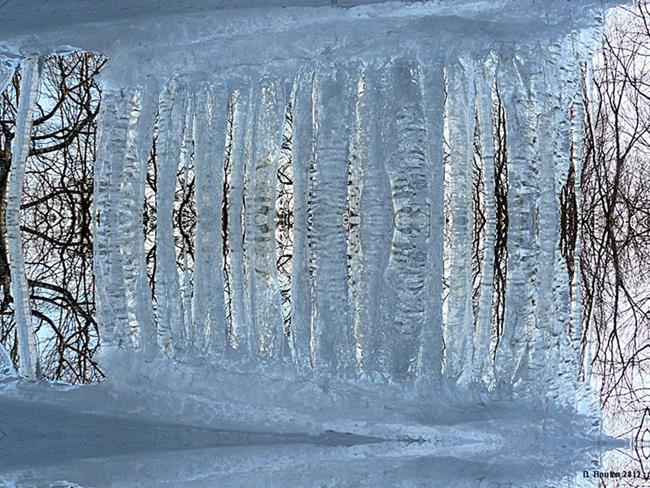 Art: Frozen Out by Artist Deanne Flouton