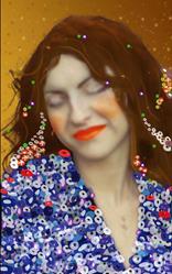 Art: Klimted by Artist Aimee Marie Wheaton