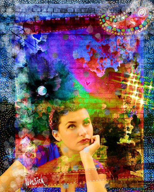 Art: Lovesick by Artist Aimee Marie Wheaton