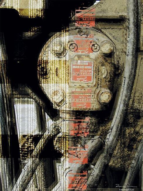 Art: hydraulic by Artist Richard R. Snyder