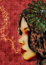 Art: Fall Speaks by Artist Aimee Marie Wheaton