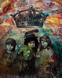 Art: Imagine by Artist Aimee Marie Wheaton