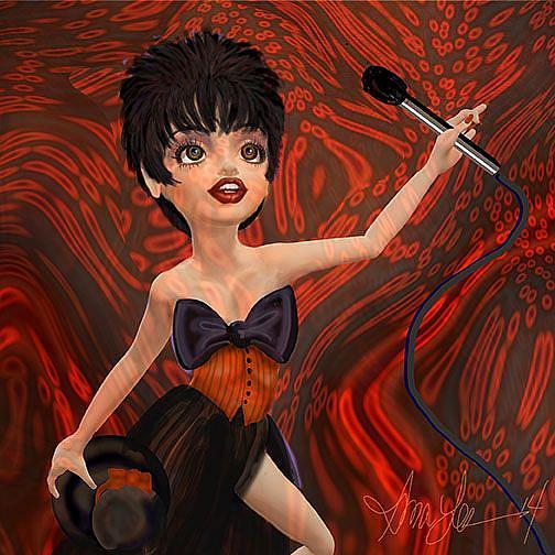 Art: LIZA by Artist Alma Lee