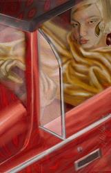 Art: Driving Passion by Artist Alma Lee